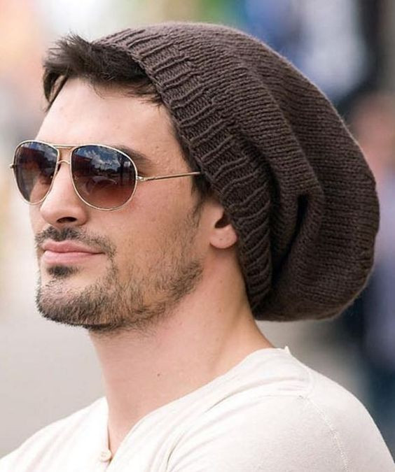 Awesome Men's Hat Knitting Patterns Mens Slouchy Beanie Hats Of Amazing 47 Models Mens Slouchy Beanie Hats