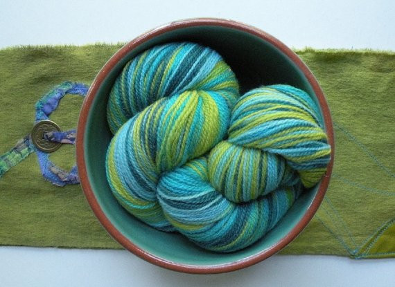 Awesome Merino Wool Yarn Laceweight Teal Blue Lime by Green Variegated Yarn Of Beautiful 50 Pics Green Variegated Yarn