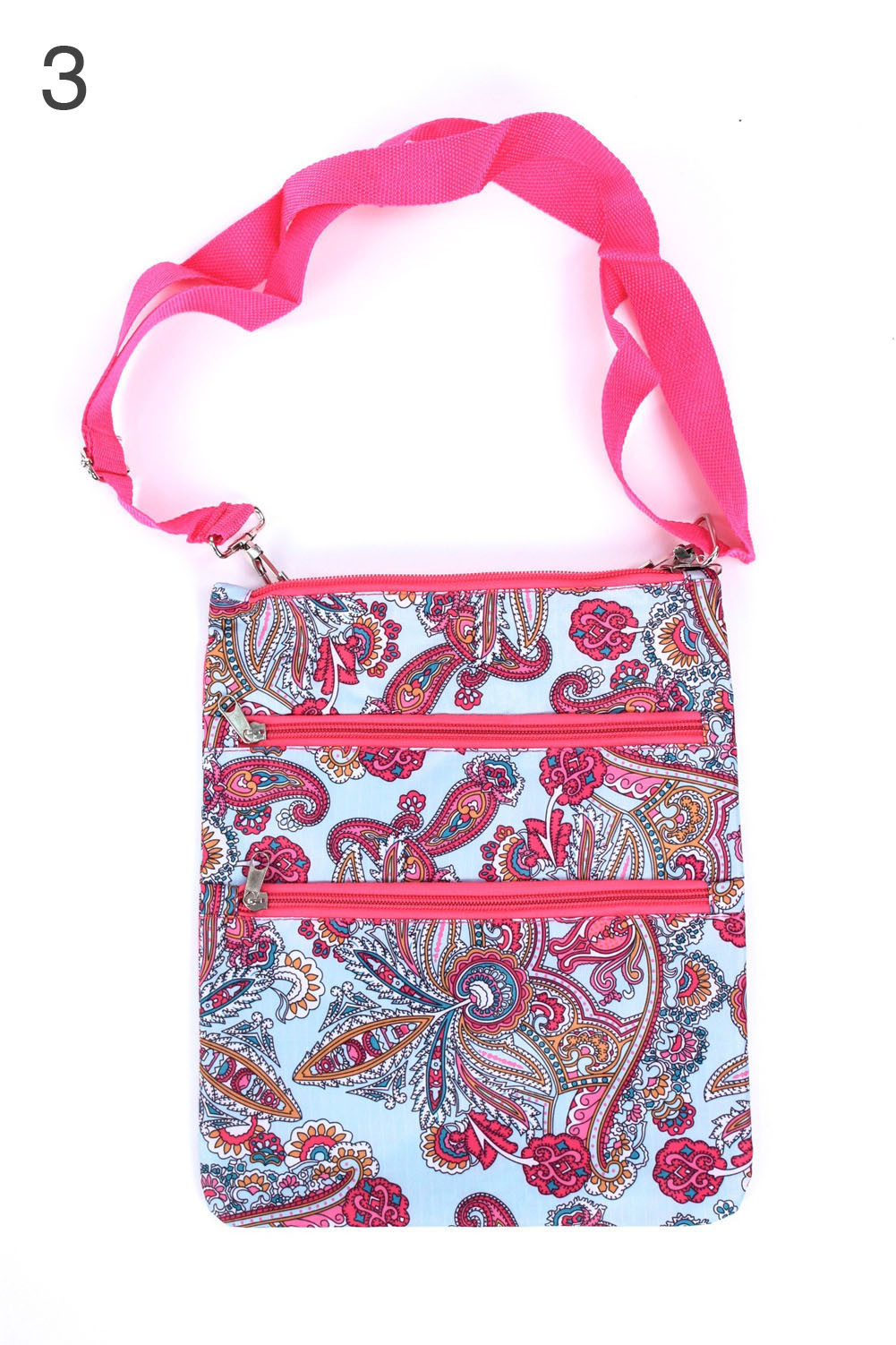 Messenger Bag Satchel All Over Print Pattern Fashion