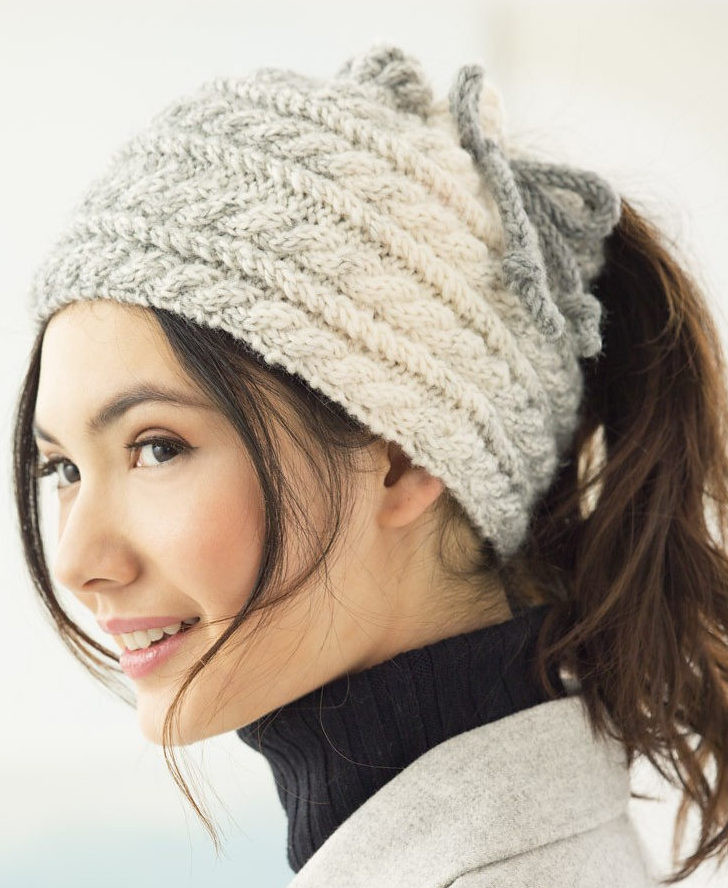 Awesome Messy Bun and Ponytail Hat Knitting Patterns Free Knitting Pattern for Ponytail Hat Of Delightful 43 Models Free Knitting Pattern for Ponytail Hat