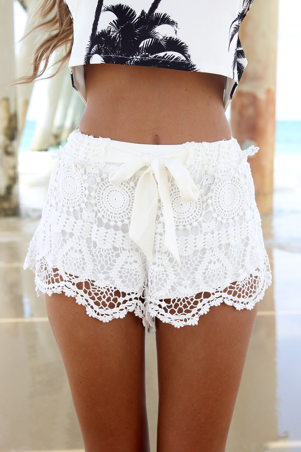 Awesome Milla Crochet Shorts White White Crochet Shorts Of Amazing 40 Photos White Crochet Shorts