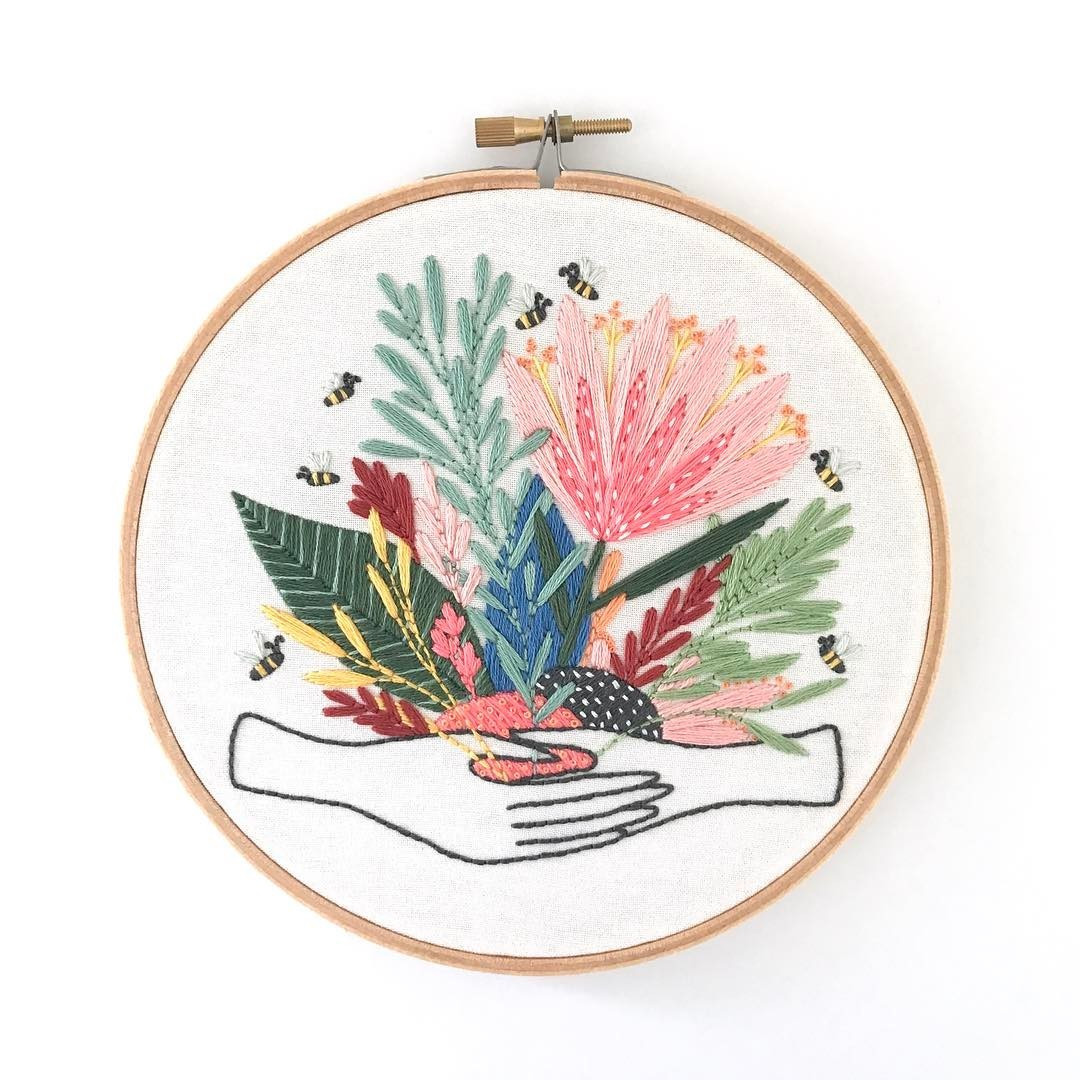 Awesome Modern Embroidery Patterns Highlight the Collaborative Modern Embroidery Patterns Of Brilliant 49 Pics Modern Embroidery Patterns
