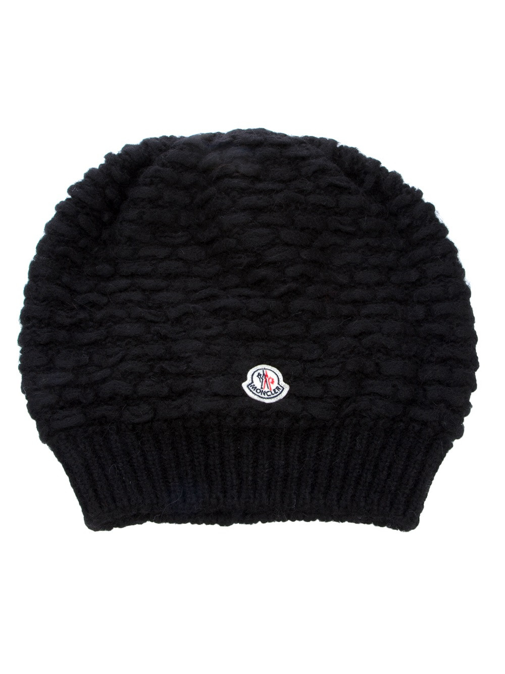 Awesome Moncler Slouchy Beanie Hat In Black Black Slouchy Beanie Of Great 40 Models Black Slouchy Beanie
