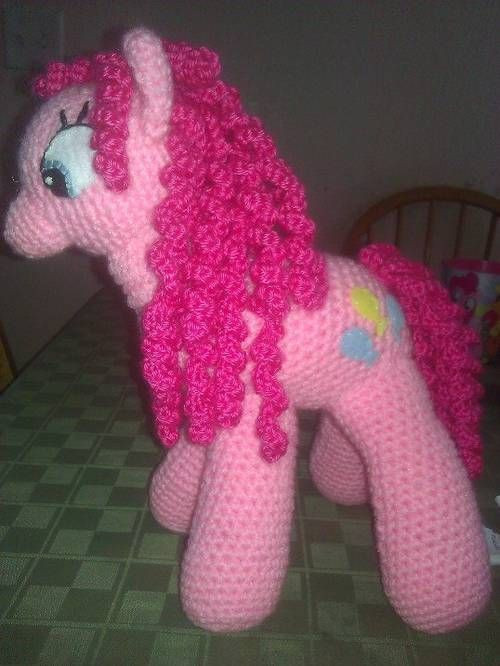 My Little Pony Pinkie Pie with link to Pattern