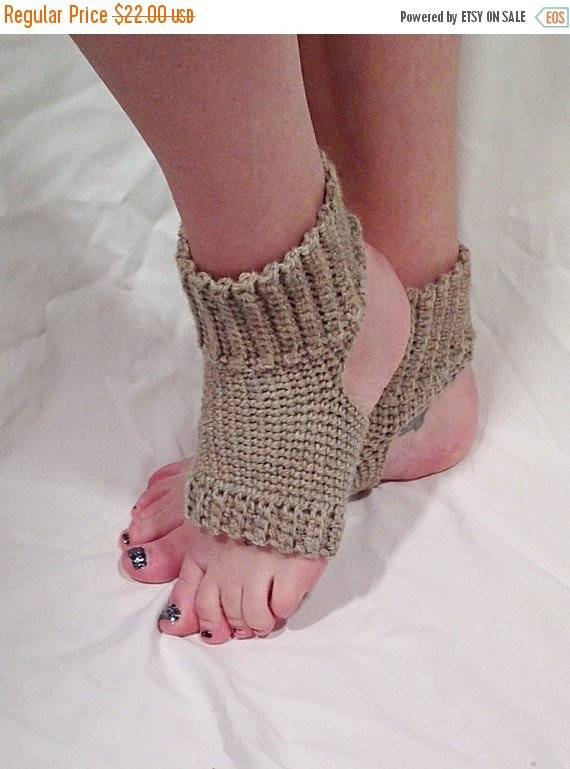 Awesome Natural Wool Crochet Yoga socks by Dappercatdesigns On Etsy Crochet Yoga socks Of Brilliant 48 Pictures Crochet Yoga socks