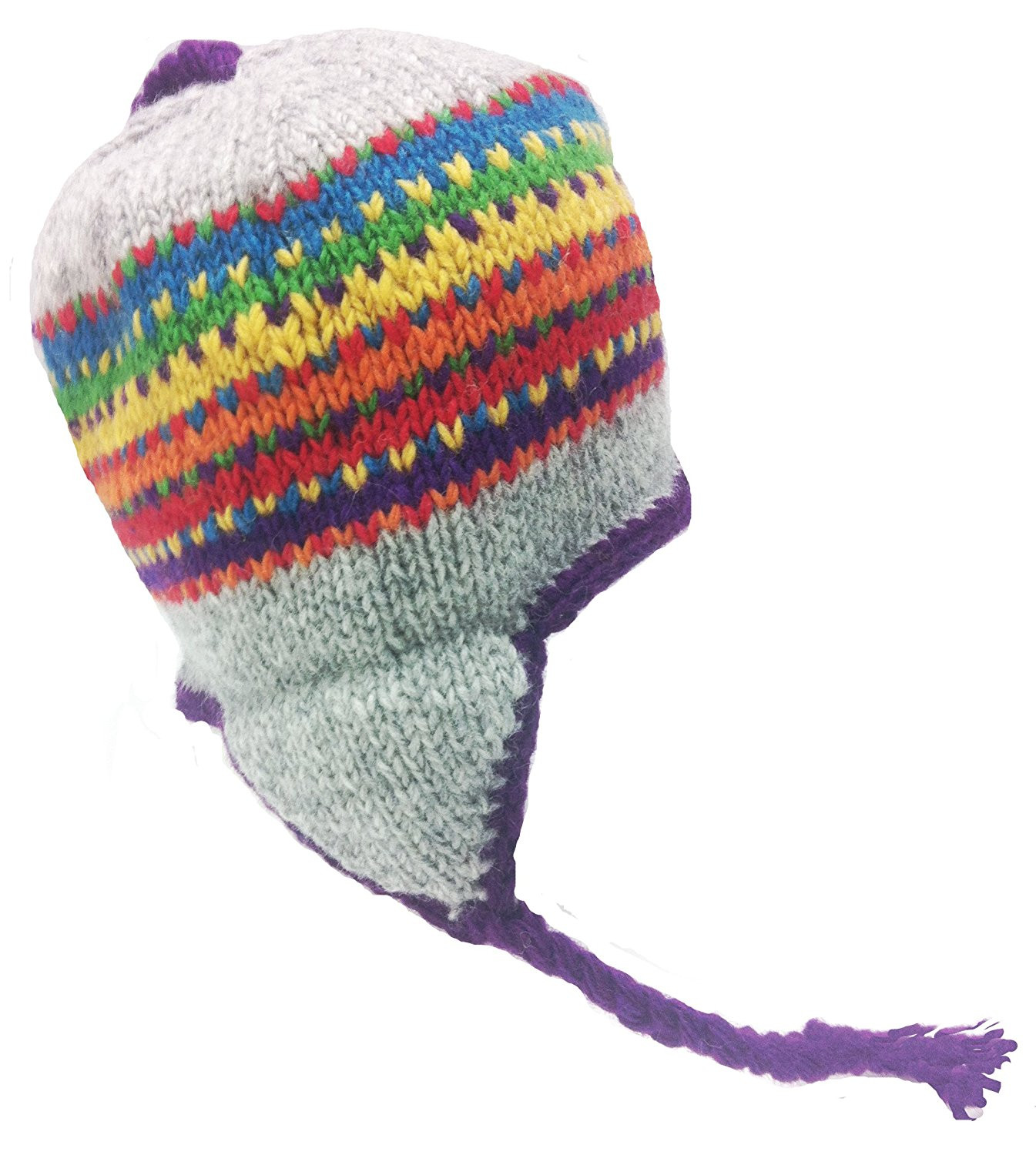 Awesome Nepal Hand Knit Sherpa Hat with Ear Flaps Fishingnew Knit Hat with Ear Flaps Of Marvelous 50 Pics Knit Hat with Ear Flaps