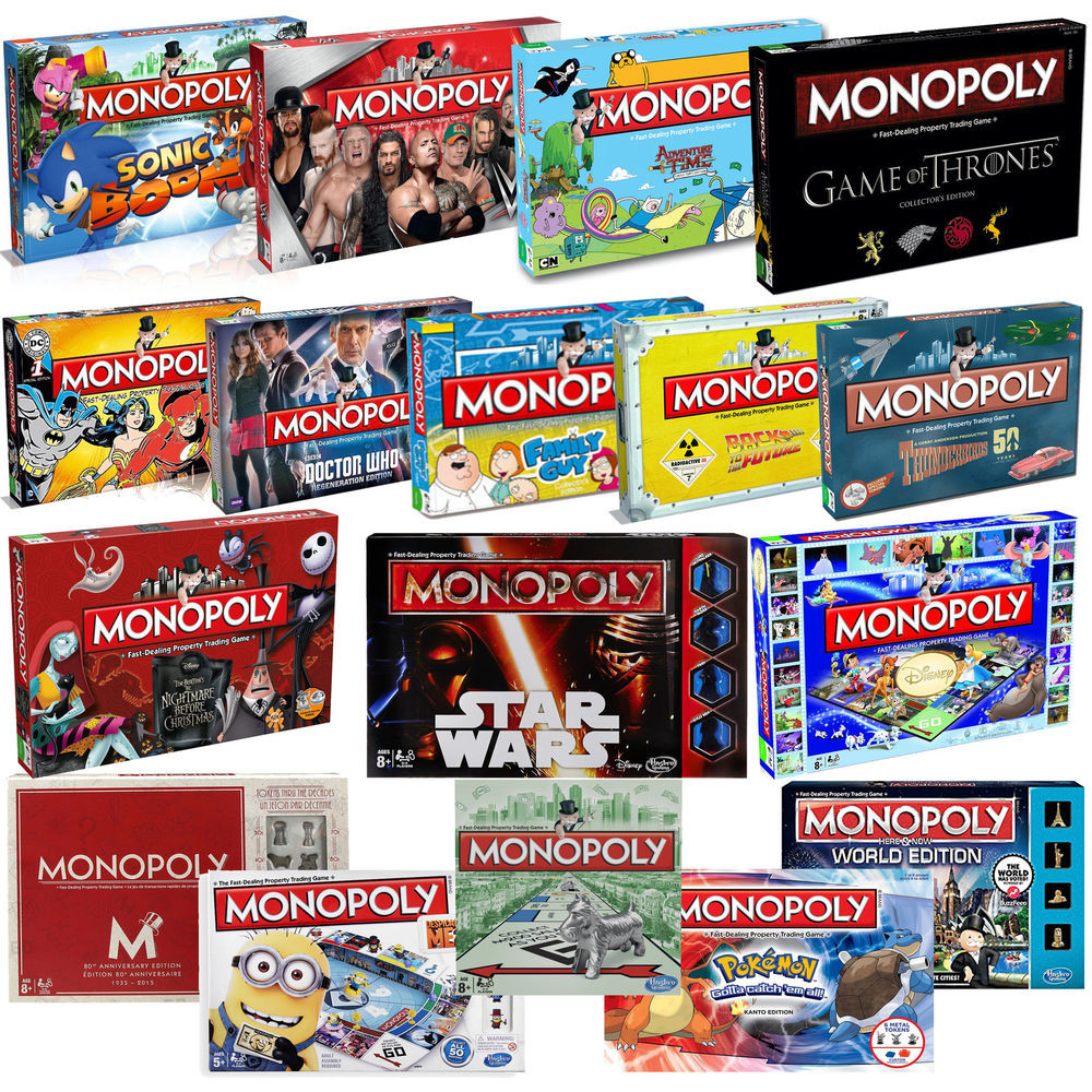 Awesome New Monopoly Collectors Special Edition Board Game 28 Monopoly Game Versions Of Gorgeous 40 Photos Monopoly Game Versions