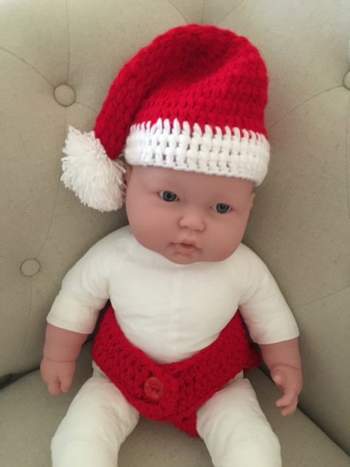 Awesome Newborn Santa Hat Santa Hat Baby Christmas Hat Crochet Crochet Baby Santa Hat Of Amazing 44 Images Crochet Baby Santa Hat