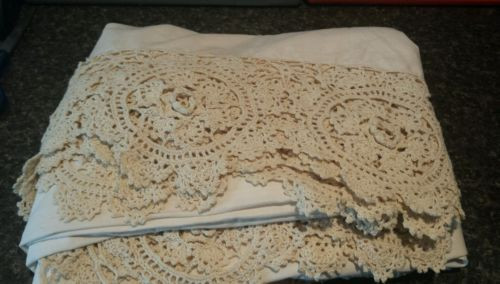 Awesome Nostalgia Home Fashions Crochet Type Queen Bed Skirt Dust Crochet Bed Skirts Of Gorgeous 41 Pics Crochet Bed Skirts