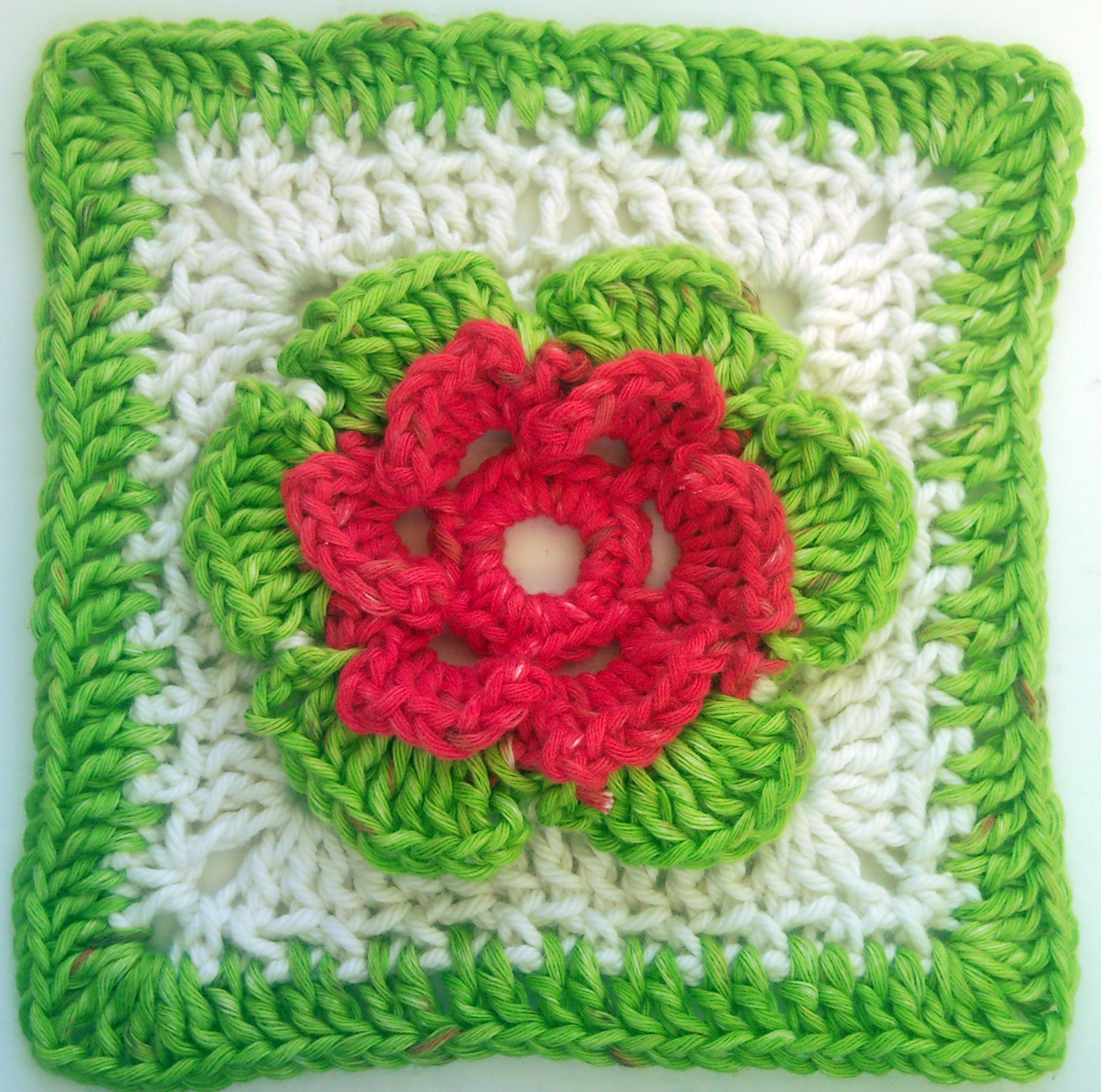 Awesome Not Just Granny Squares – Crochet Floral Squares – Free Crochet Flower Square Of Brilliant 47 Models Crochet Flower Square