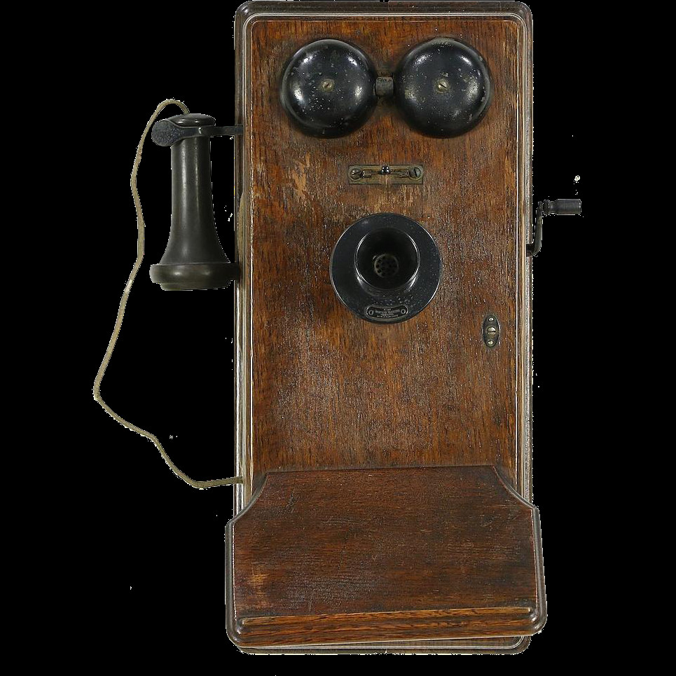 Awesome Oak Antique Crank Wall Phone Signed Western Electric From Antique Crank Phone Of Top 49 Pictures Antique Crank Phone