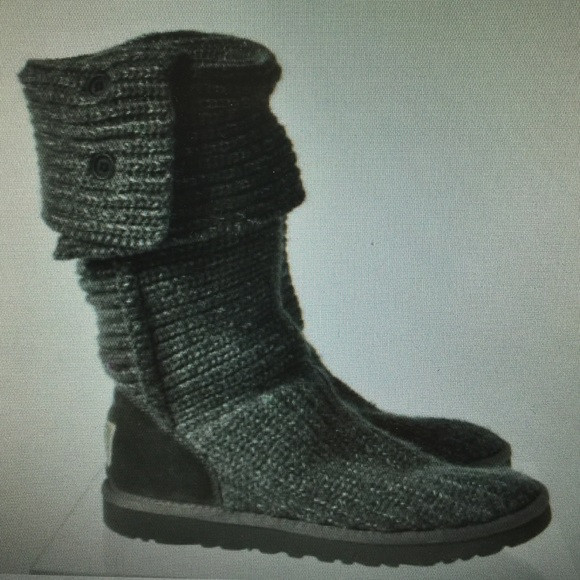 Awesome Off Ugg Shoes Ugg Gray Metallic Crochet button Fold Crochet Uggs Boots Of New 45 Ideas Crochet Uggs Boots