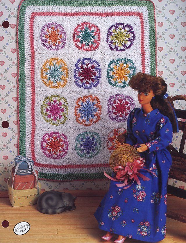 Awesome Old Fashioned Star Quilt for Barbie Annie S attic Crochet Annie's attic Crochet Of Lovely 45 Pics Annie's attic Crochet