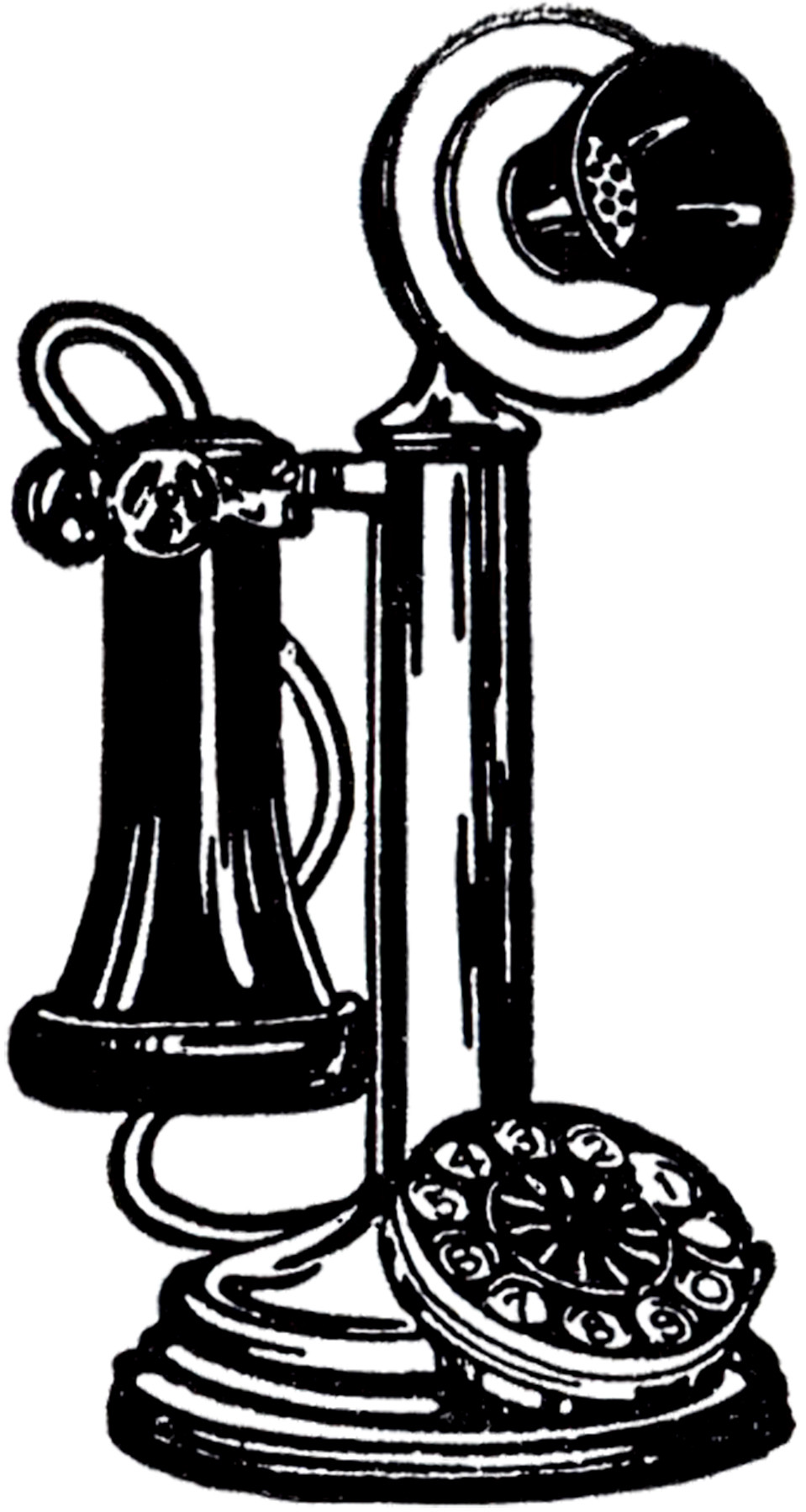 Awesome Old Fashioned Telephone Image the Graphics Fairy Old Time Phone Of Great 44 Models Old Time Phone