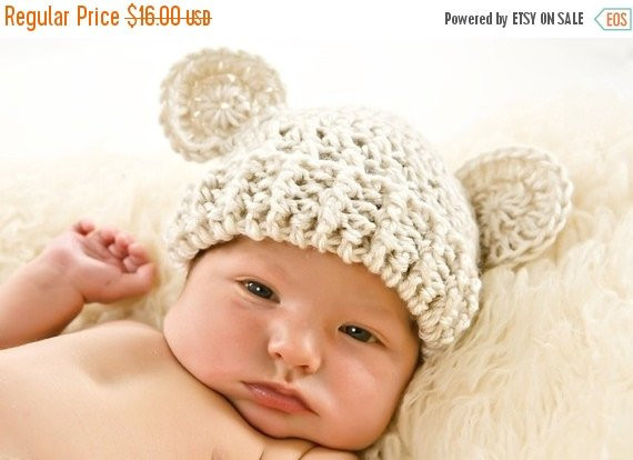 Awesome On Sale Crochet Baby Hat with Ears Infant Hat Baby Hat by Crochet Baby Hat with Ears Of Lovely 43 Pics Crochet Baby Hat with Ears
