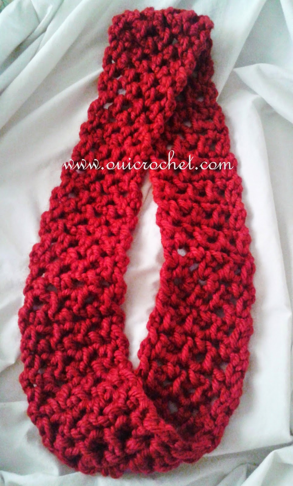 Awesome Oui Crochet Quick Infinity Scarf Free Crochet Pattern Free Quick and Easy Crochet Scarf Patterns Of Wonderful 42 Photos Free Quick and Easy Crochet Scarf Patterns