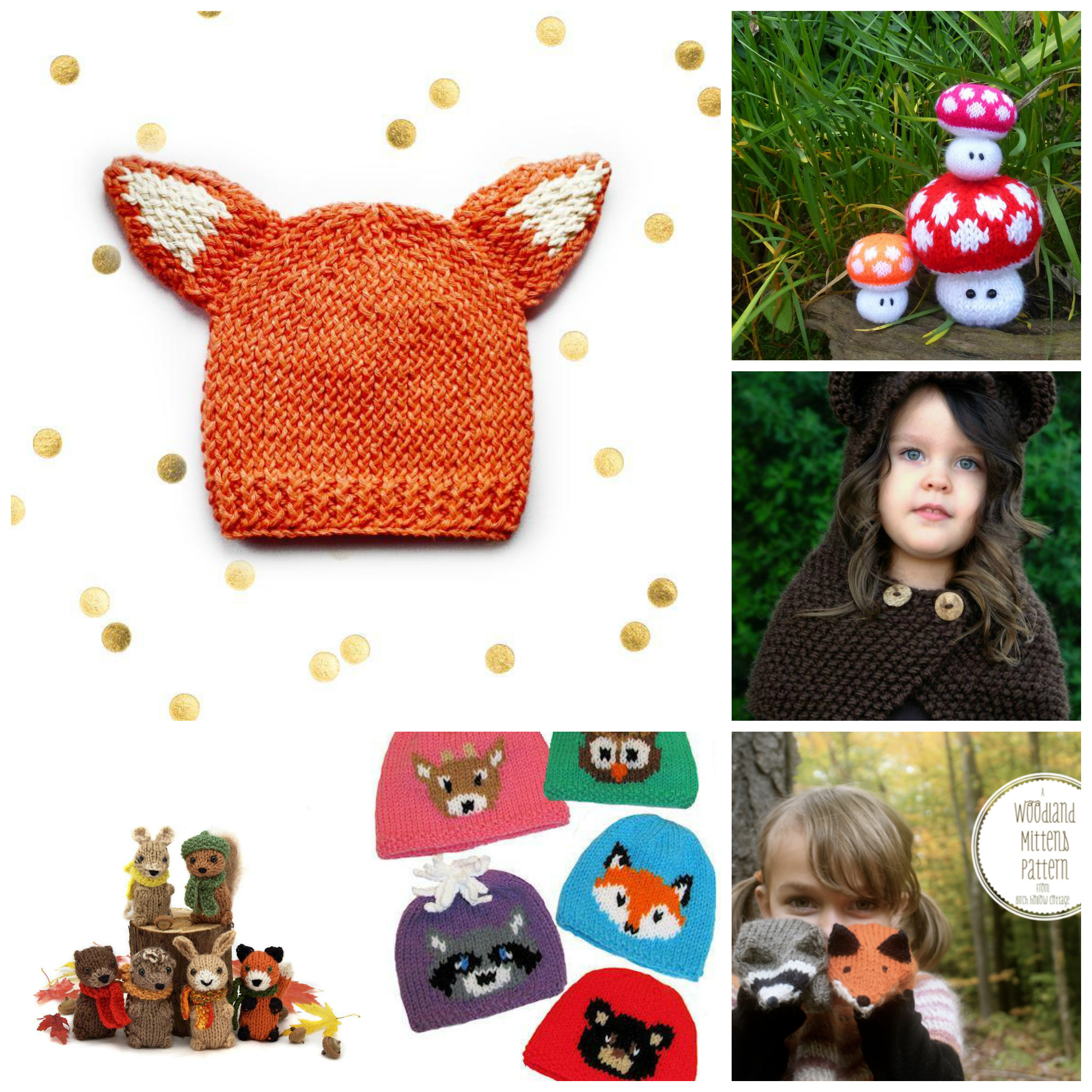 Awesome Our Favorite Woodland Knitting Patterns Knitting Ideas Of Superb 43 Images Knitting Ideas
