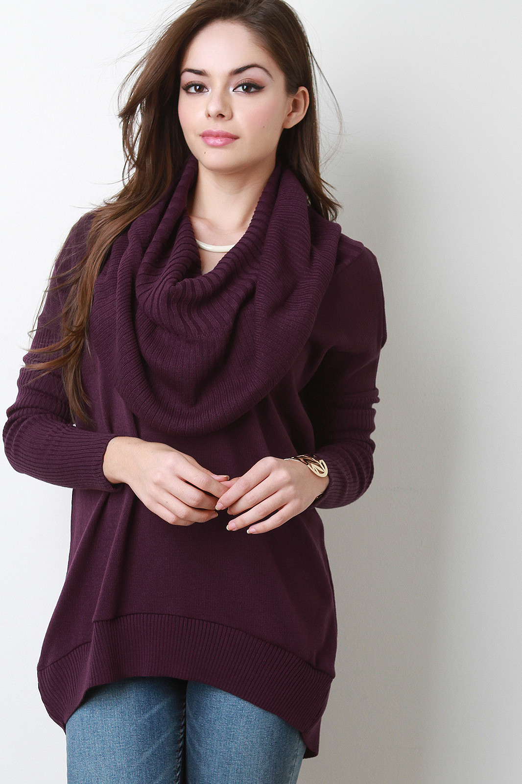 Awesome Oversized Cowl Neck Knit Sweater Cowl Neck Knit Sweater Of Top 42 Pictures Cowl Neck Knit Sweater