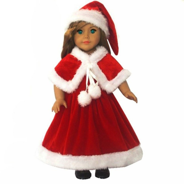 """Awesome Patible with American Girl 18"""" Doll 3 Pc Christmas American Girl Doll Christmas Outfits Of Wonderful 40 Ideas American Girl Doll Christmas Outfits"""