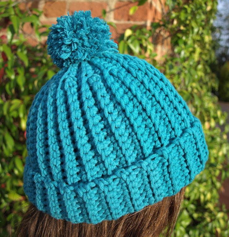 Awesome Pattern Crochet Ribbed Hat Dancox for Easy Crochet Hat Patterns for Adults Of Delightful 48 Photos Easy Crochet Hat Patterns for Adults