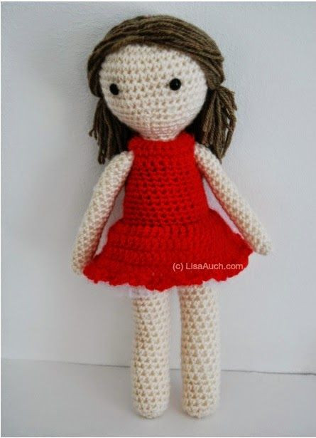 Awesome Pattern for Beginners Head Body Arms Legs All One Free Amigurumi Doll Patterns Of Unique 43 Pics Free Amigurumi Doll Patterns