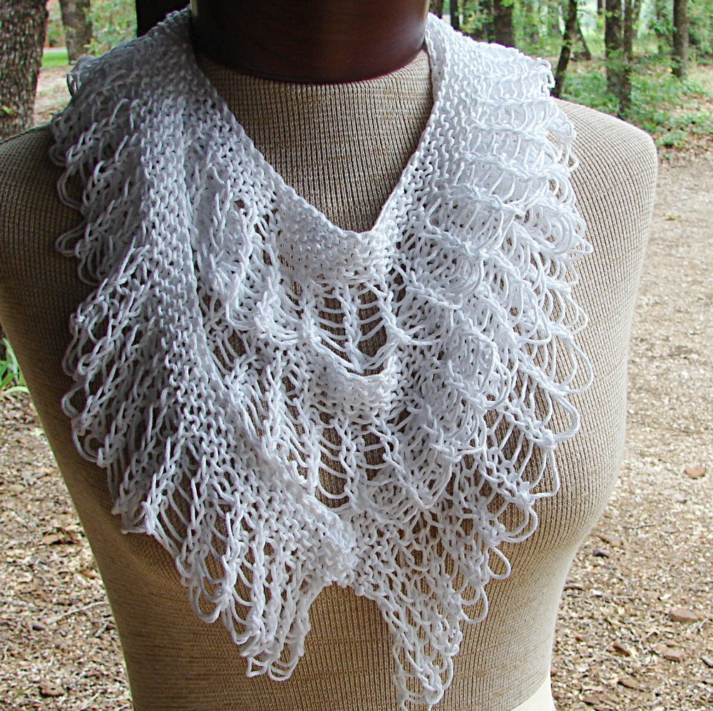 Awesome Pattern for Hand Knit Lace Ruffle Scarf by Terrificcreations Knit Ruffle Scarf Of Marvelous 50 Pics Knit Ruffle Scarf