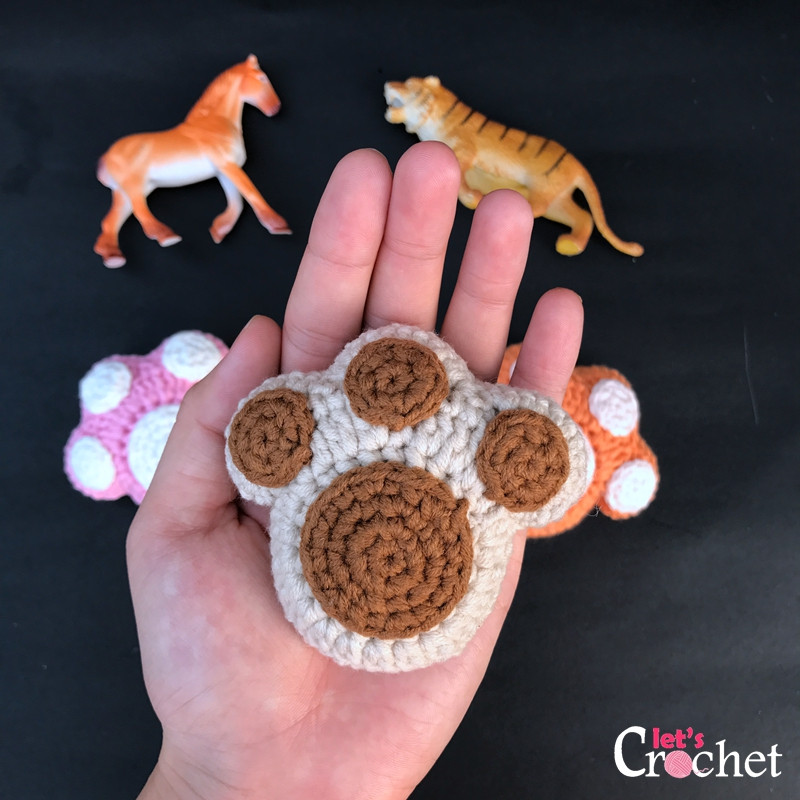 Awesome Paw Print Keychain Free Crochet Pattern Free Printable Crochet Patterns Of Fresh 45 Images Free Printable Crochet Patterns