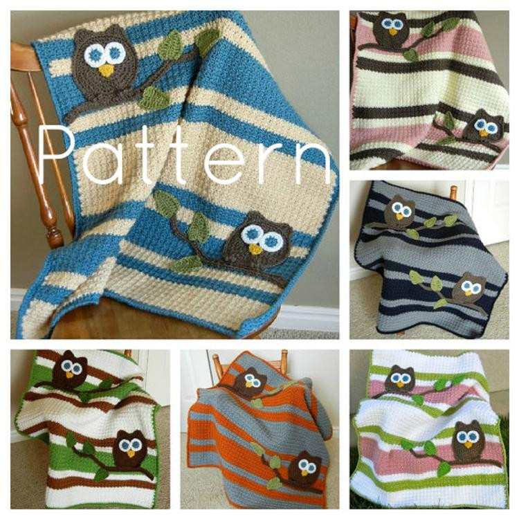 Awesome Pdf Owl Baby Blanket Lovey Size Crochet Pattern Plus by Baby Blanket Size Crochet Of Contemporary 49 Pictures Baby Blanket Size Crochet