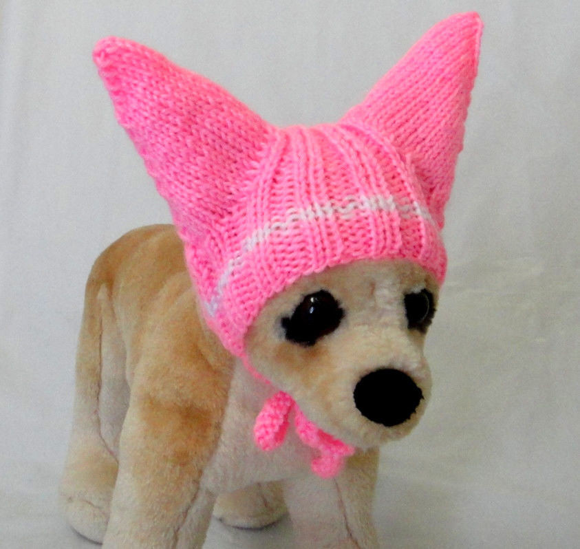 Pet Clothes Apparel Outfit Crochet Handmade Knit Hat for