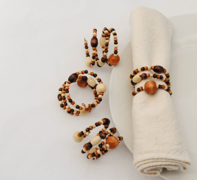 Awesome Picture Creative Napkin Rings Ideas as Pretty Wedding Napkin Ring Ideas Of Innovative 46 Models Napkin Ring Ideas
