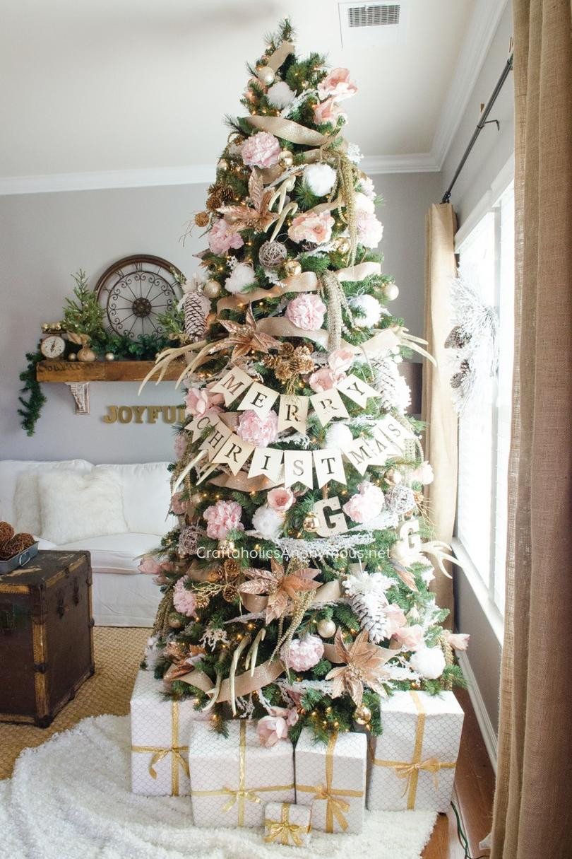 Awesome Pink Christmas Trees We Love southern Living Christmas Tree and Decorations Of Delightful 50 Pictures Christmas Tree and Decorations
