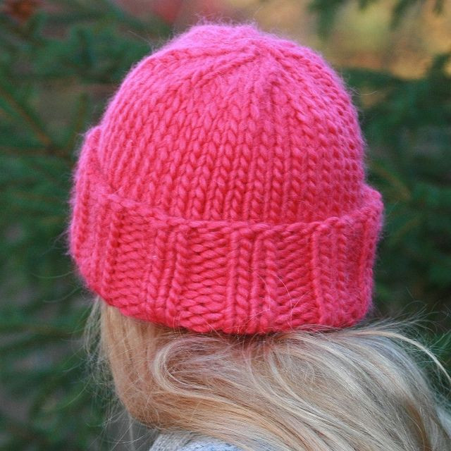 Awesome Pink Hat Free Pattern Love This One Super Chunky Yarn Chunky Yarn Knitting Patterns Of Great 42 Photos Chunky Yarn Knitting Patterns