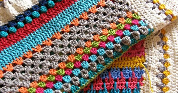 Awesome Pippy Stripe Blanket I Love This Its Like A Different Types Of Crochet Stitches Of Innovative 44 Images Different Types Of Crochet Stitches