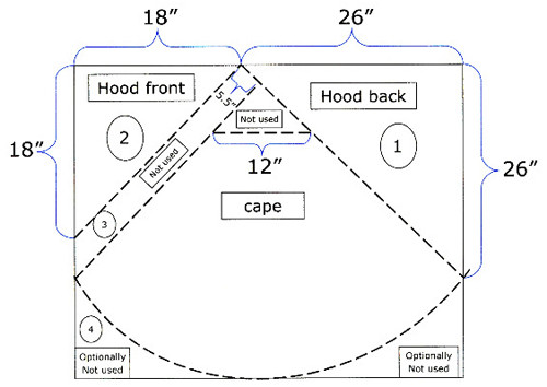 Awesome Play Cape Costume Tutorial Red Riding Hood Cape Pattern Of Charming 43 Pictures Red Riding Hood Cape Pattern