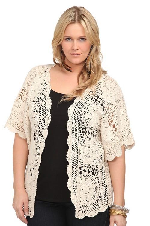 Awesome Plus Size Crochet Cardigan Sweater Grey Plus Size Crochet Sweater Of Perfect 44 Models Plus Size Crochet Sweater