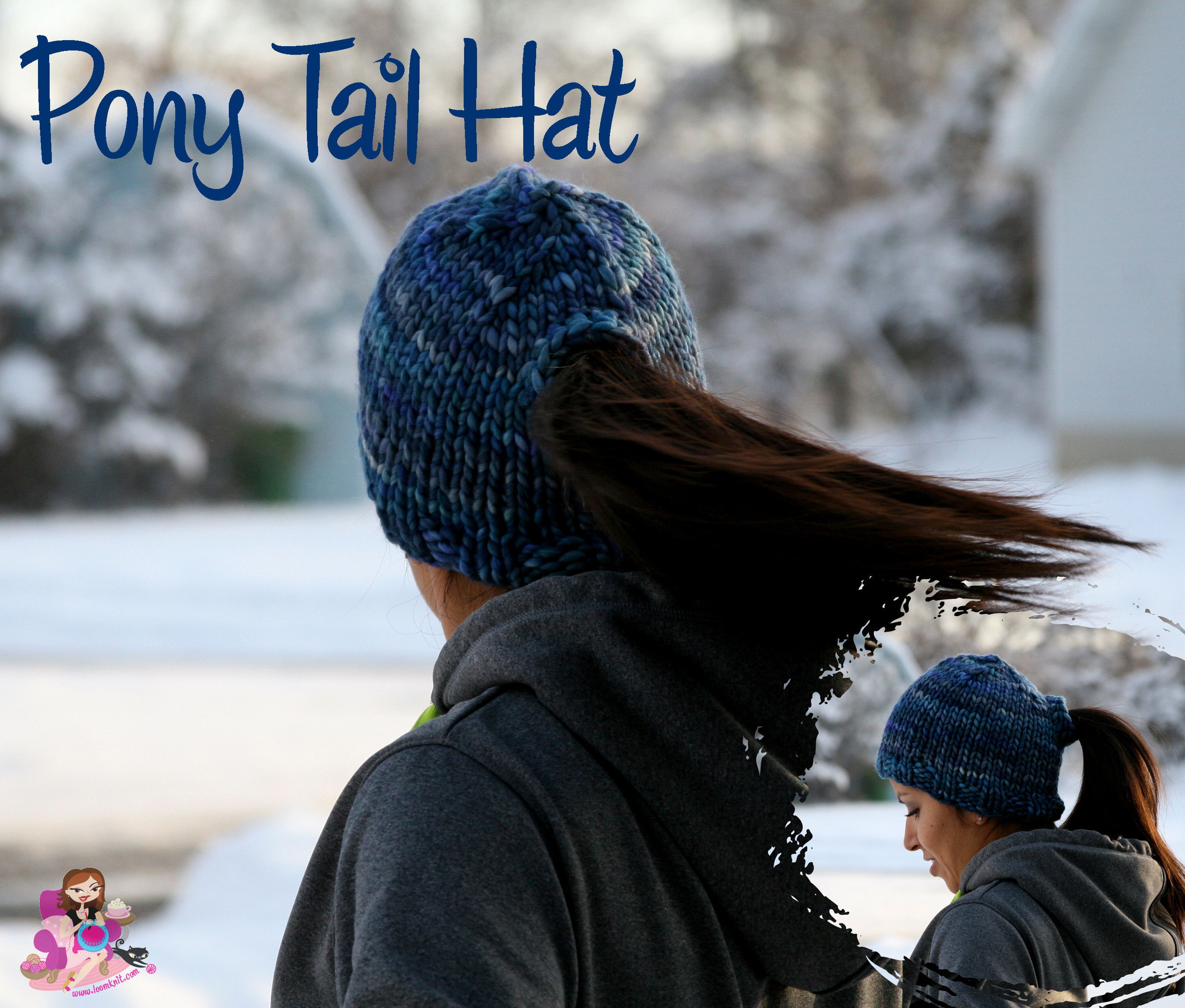 Awesome Pony Tail Hat Design Kb Looms Blog Ponytail Knit Hat Of Top 46 Pictures Ponytail Knit Hat