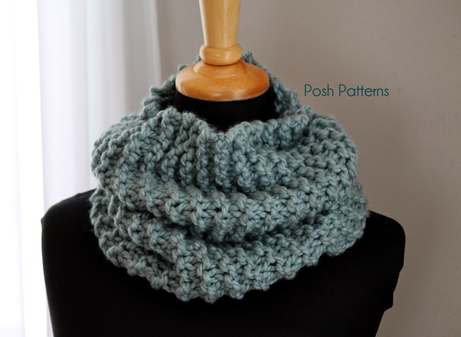 Awesome Posh Patterns Easy Crochet Patterns and Knitting Patterns Free Knitted Cowl Patterns Of Incredible 45 Images Free Knitted Cowl Patterns