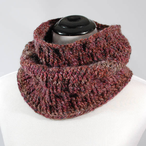 Post Stitch Cowl Crochet Pattern