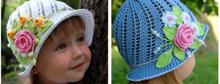 Awesome Pretty Crochet Girls Panama Hat Free Patten and Video Crochet Little Girl Hats Of Charming 40 Images Crochet Little Girl Hats