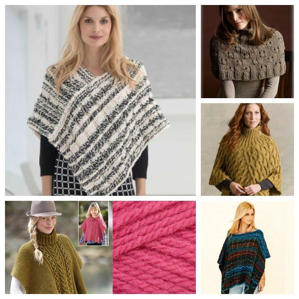 Awesome Pretty Ponchos to Knit – Knitting Free Poncho Knitting Patterns Of Incredible 43 Models Free Poncho Knitting Patterns