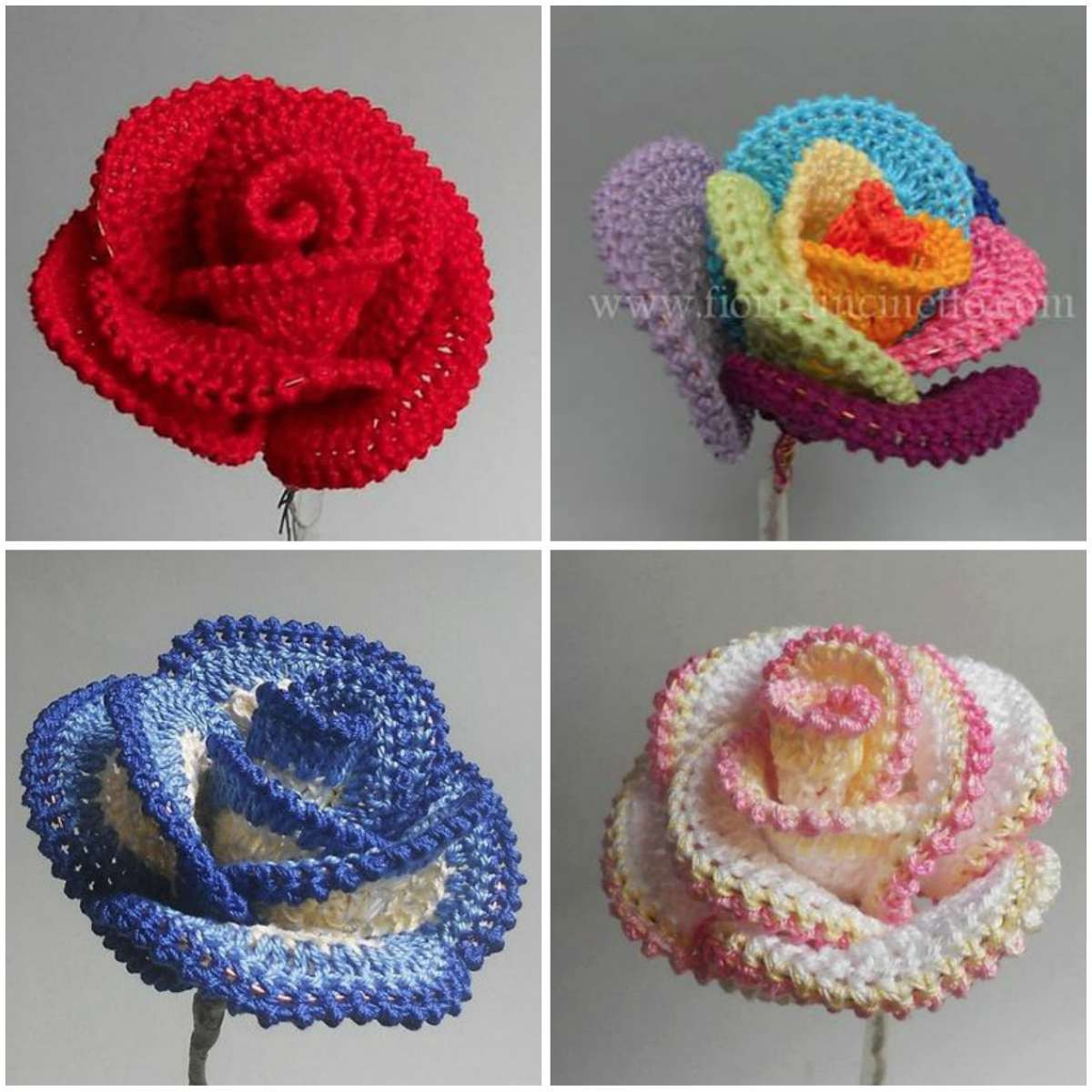 Awesome Pretty Roses – Crochet Art Crochet Group Of Amazing 46 Pictures Crochet Group