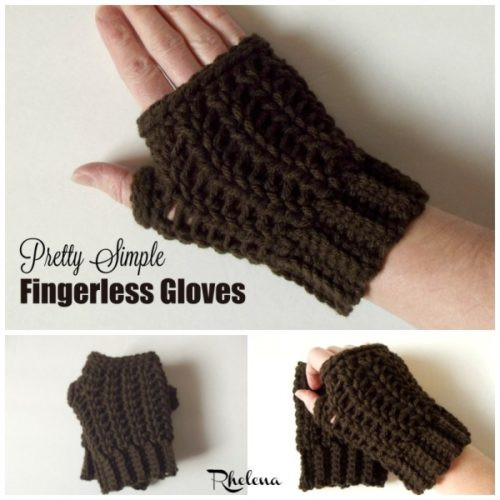 Awesome Pretty Simple Fingerless Gloves Free Crochet Pattern Easy Fingerless Gloves Crochet Pattern Of Innovative 49 Photos Easy Fingerless Gloves Crochet Pattern