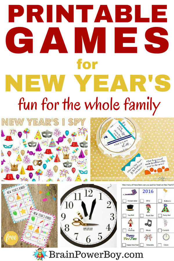 Awesome Printable Games for New Year S Fun New Family Games Of Perfect 47 Ideas New Family Games