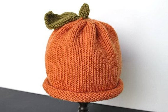 Awesome Pumpkin Hat Knit Pumpkin Hat Baby Pumpkin Hat Thanksgiving Knitted Pumpkin Hat Of Marvelous 40 Ideas Knitted Pumpkin Hat