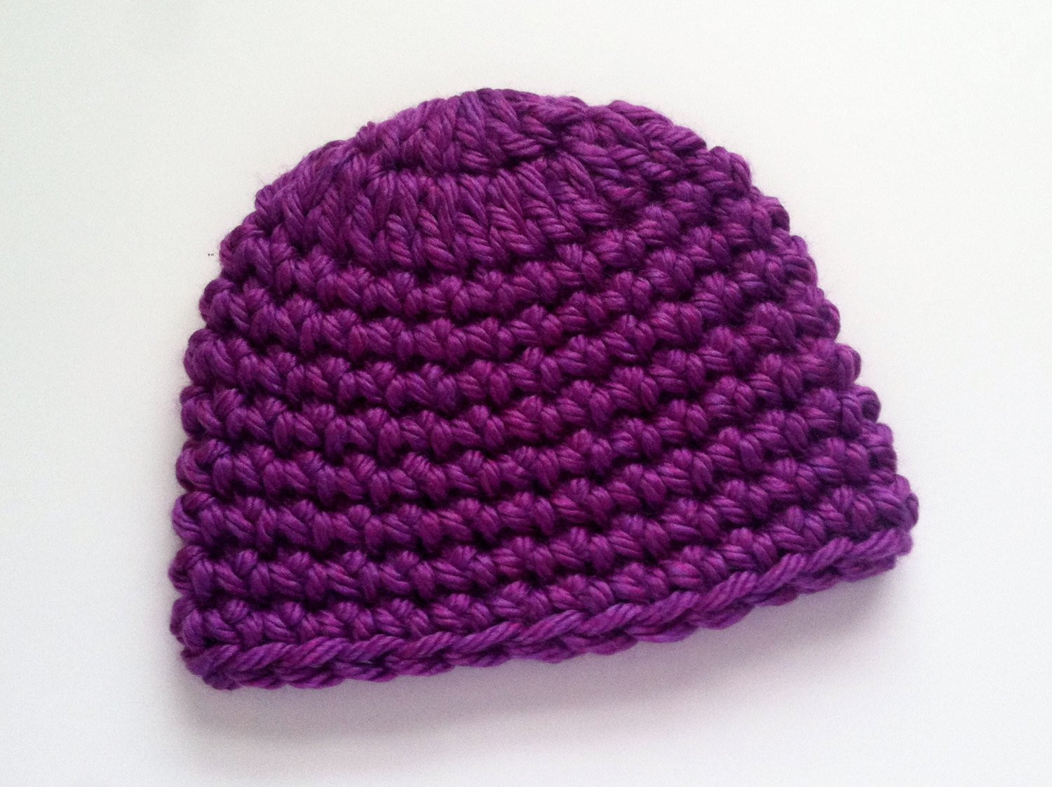 Awesome Purple Super Bulky Crocheted Hat Handmade Skull Caps Chunky Chunky Crochet Hat Of Awesome 45 Models Chunky Crochet Hat