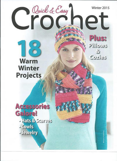 Awesome Quick & Easy Crochet Quick and Easy Crochet Magazine Of Amazing 40 Models Quick and Easy Crochet Magazine