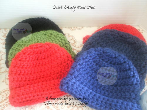 Awesome Quick & Easy Men S Hat Quick and Easy Crochet Patterns for Beginners Of Awesome 48 Photos Quick and Easy Crochet Patterns for Beginners
