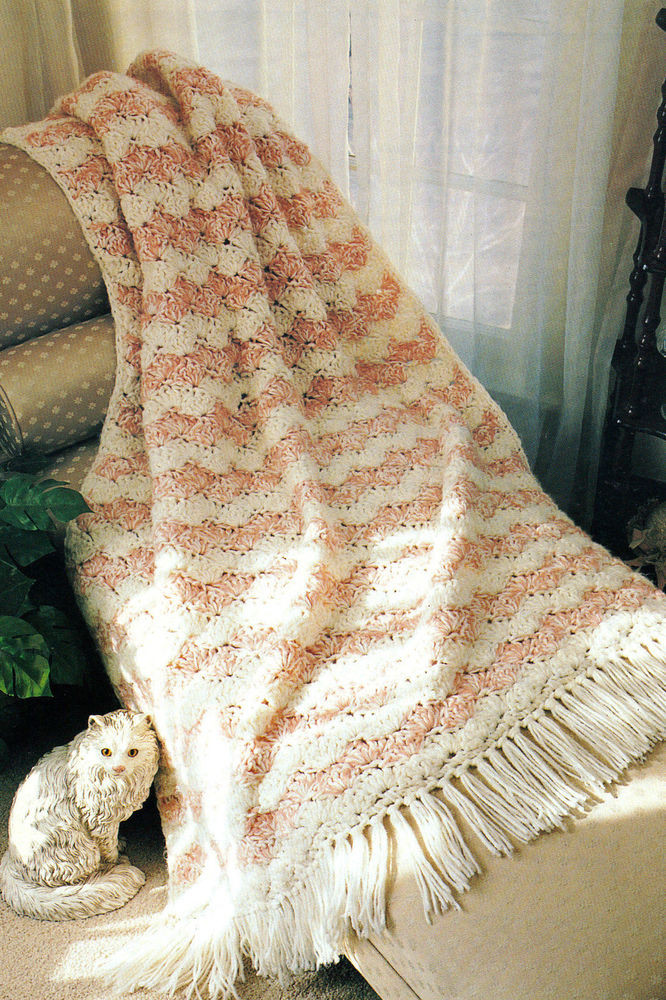 Awesome Quick & Easy Shell Afghan Crochet Pattern Instructions Shell Afghan Pattern Of Innovative 43 Pictures Shell Afghan Pattern