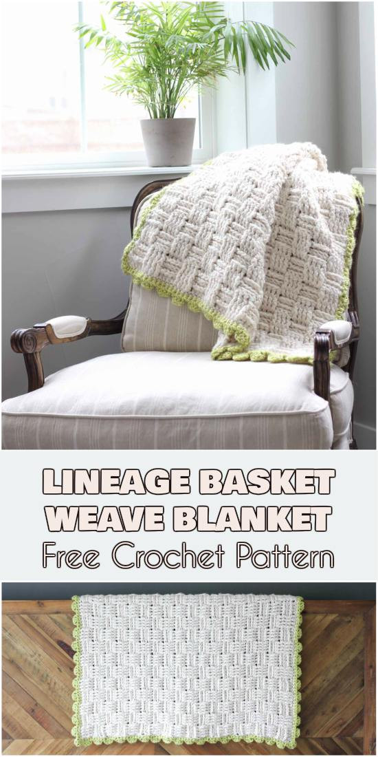 """Awesome """"lineage"""" Basket Weave Blanket [free Crochet Pattern Basket Weave Blanket Pattern Free Of Top 41 Pictures Basket Weave Blanket Pattern Free"""