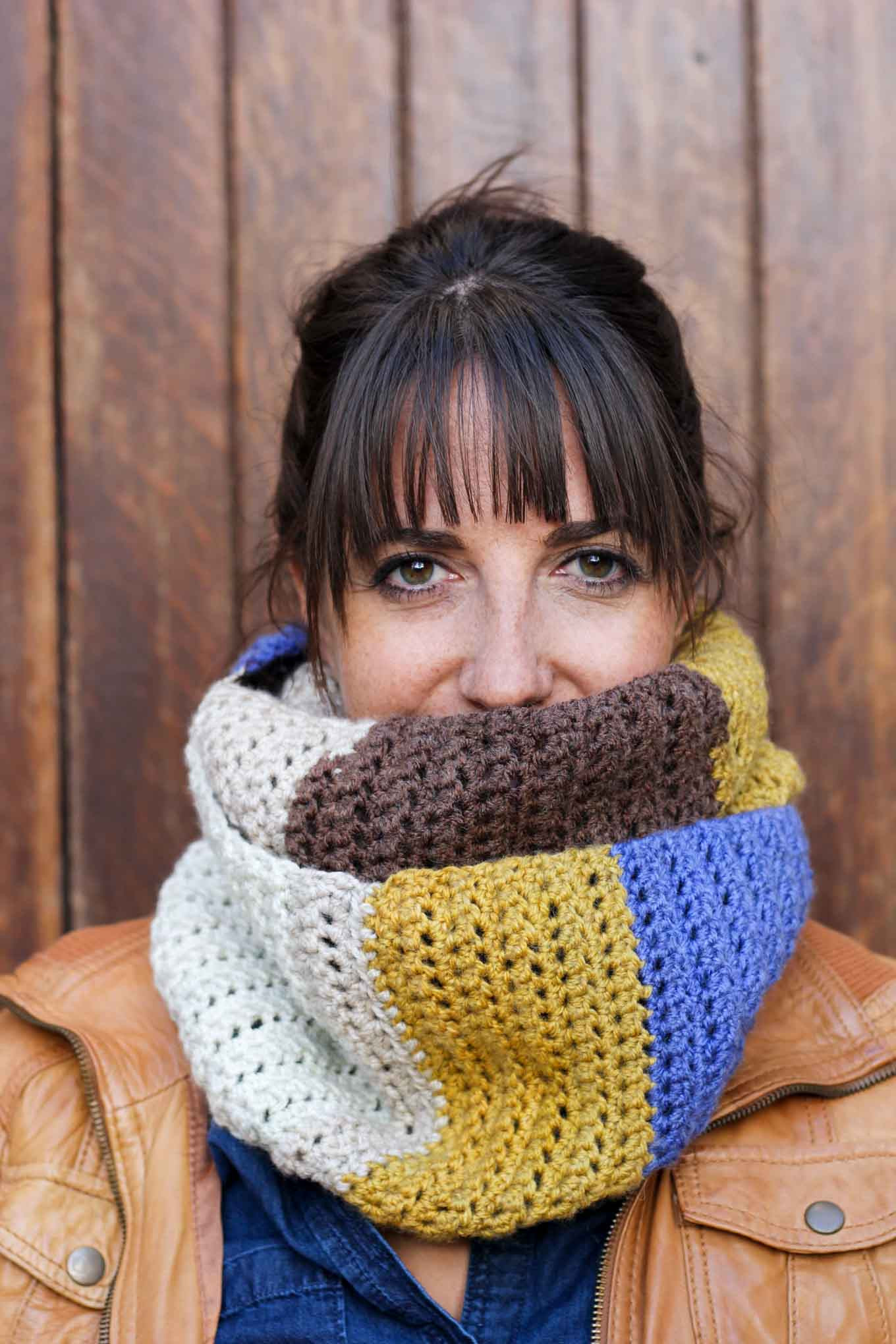 """Awesome """"piece Of Cake Cowl"""" with Caron Cakes Yarn Free Crochet Caron Cakes Yarn Patterns Crochet Of Great 45 Models Caron Cakes Yarn Patterns Crochet"""